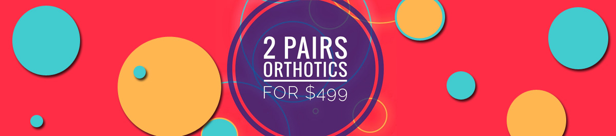 2 Pairs of Custom Orthotic for $499 - Waterloo Ontario